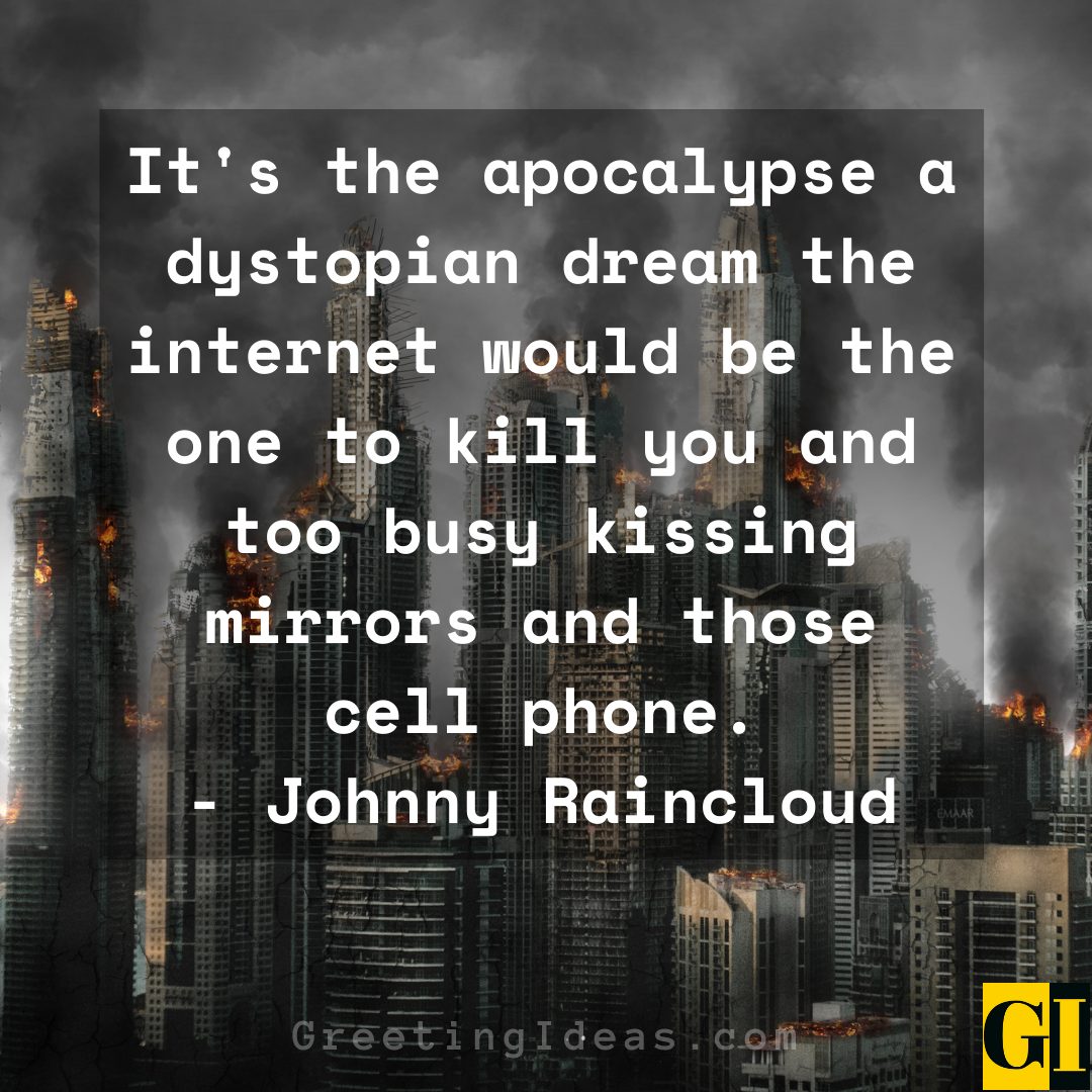 Dystopian Quotes Greeting Ideas 5