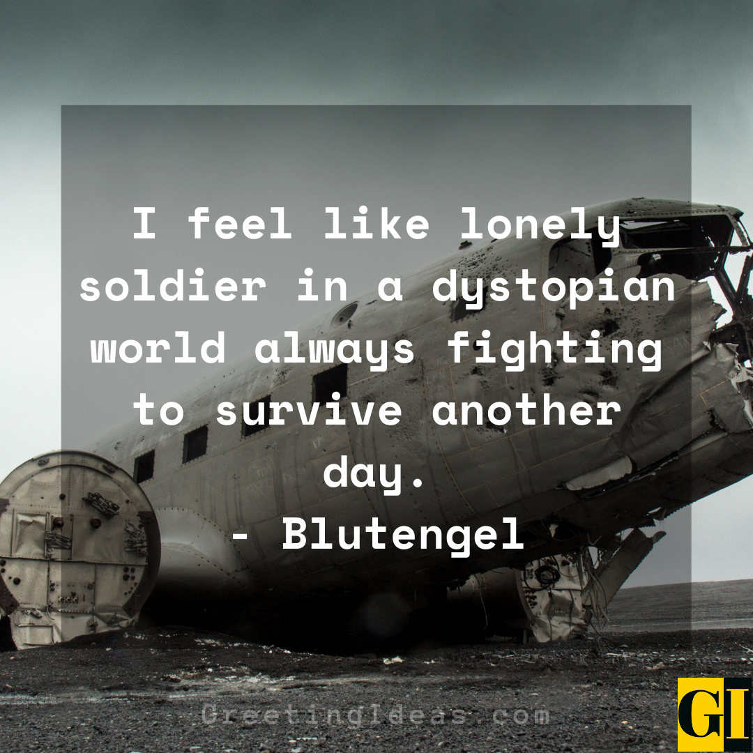 Dystopian Quotes Greeting Ideas 6