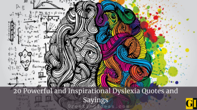 20 Powerful and Inspirational Dyslexia Quotes and Sayings
