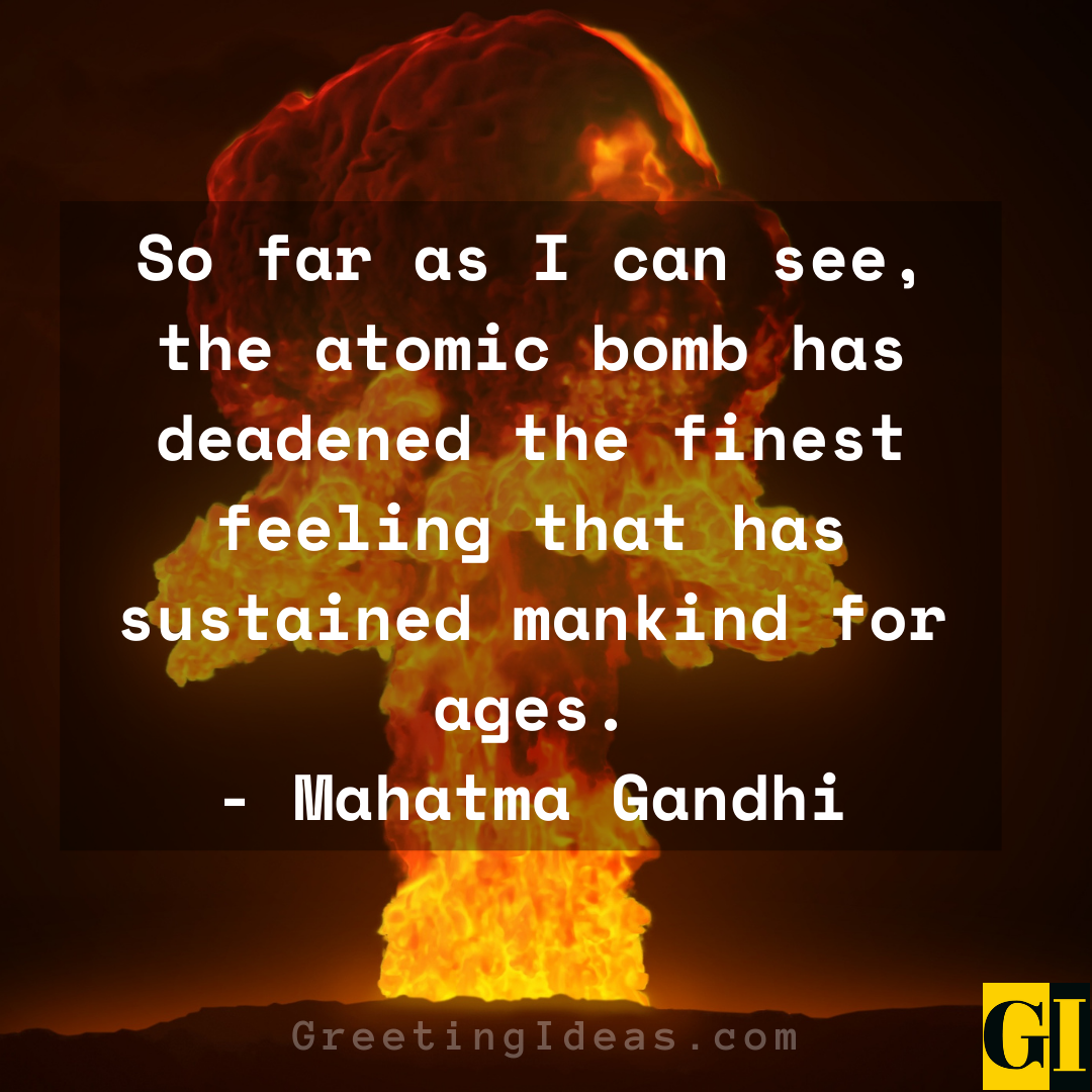 Atomic Bomb Quotes Greeting Ideas 1