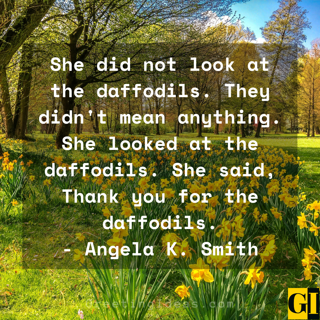 Daffodil Quotes Greeting Ideas 2