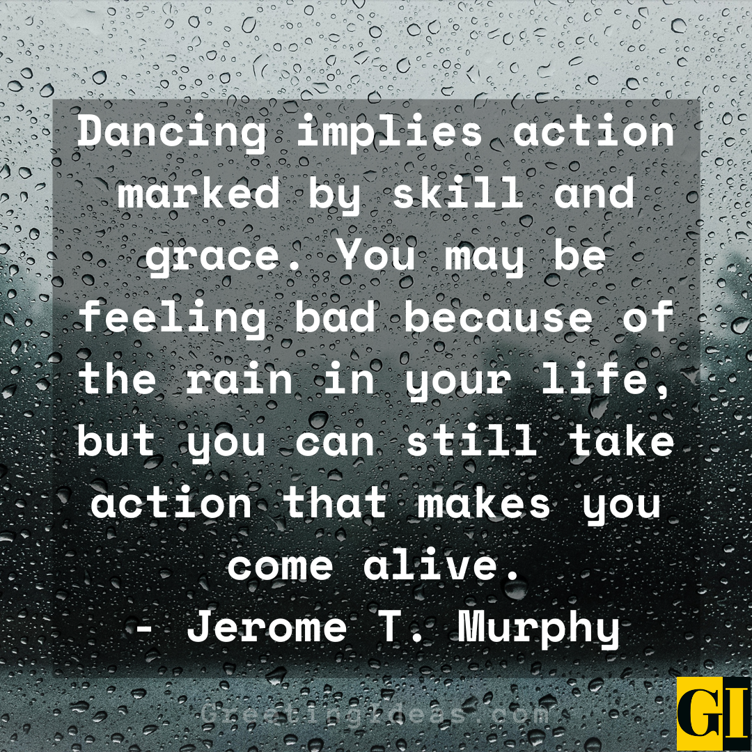 Dancing in the Rain Quotes Greeting Ideas 2
