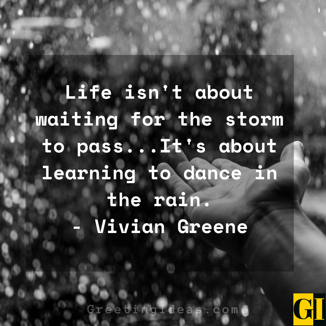 Dancing in the Rain Quotes Greeting Ideas 6