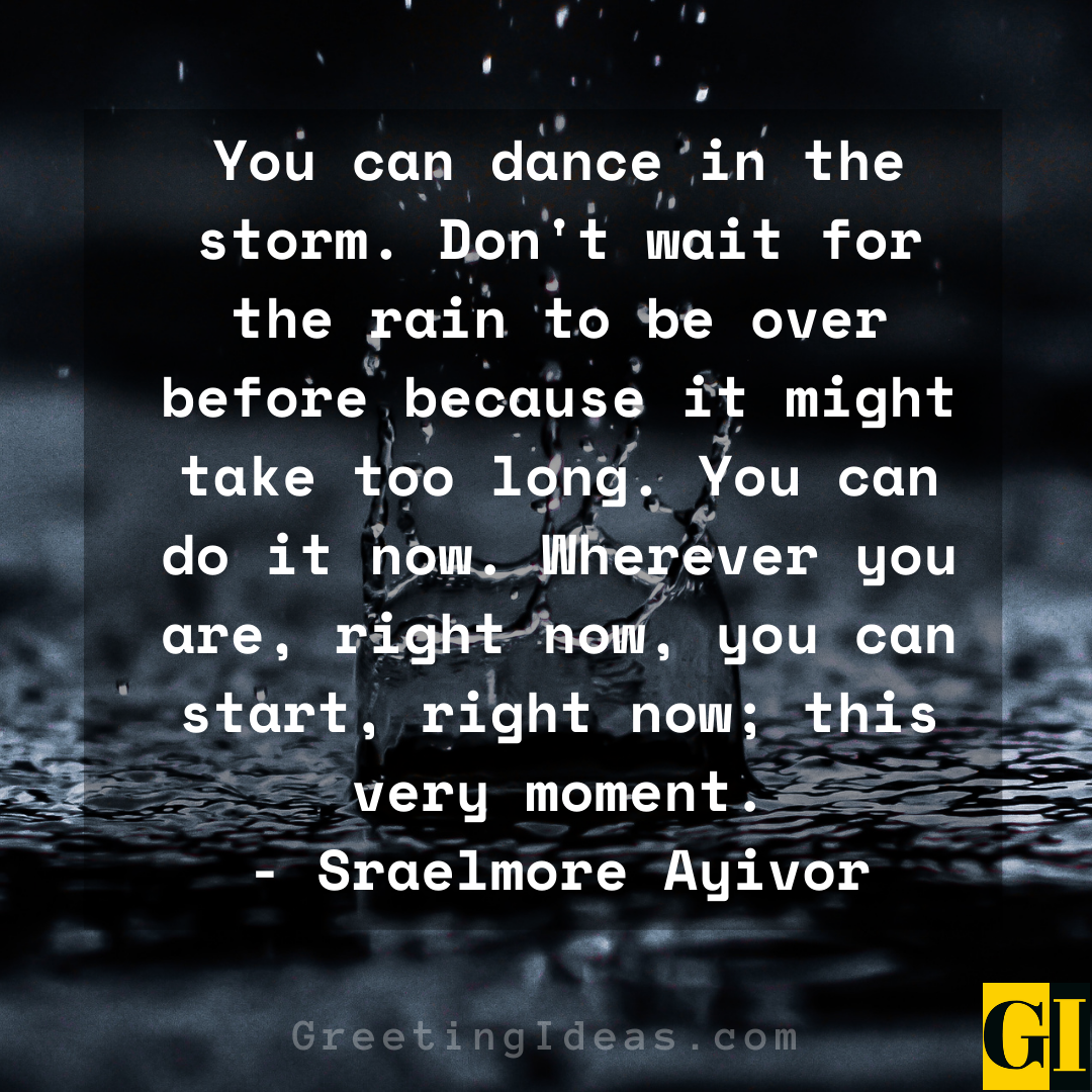 Dancing in the Rain Quotes Greeting Ideas 7