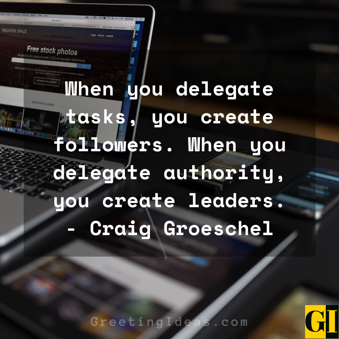 Delegation Quotes Greeting Ideas 2