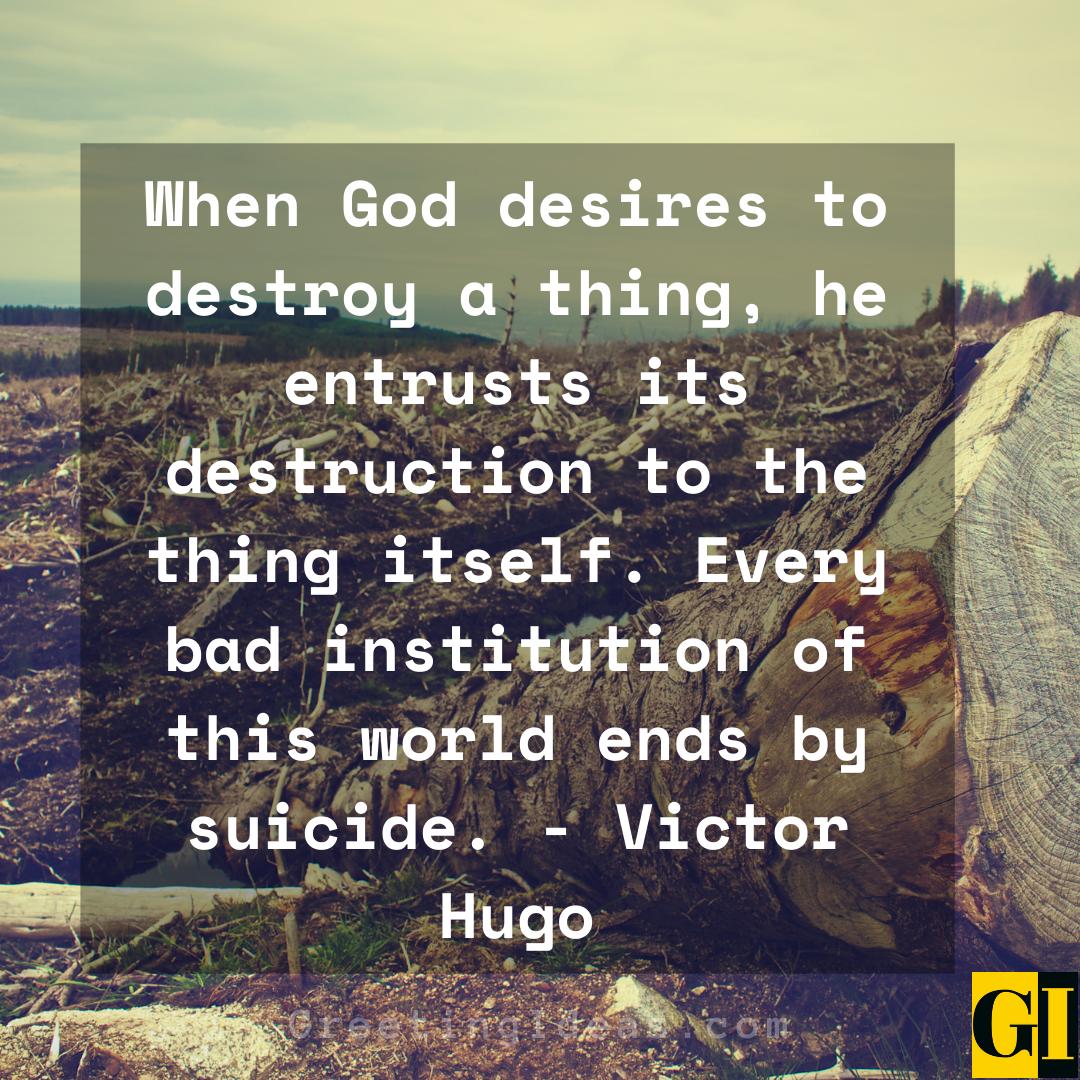 Destruction Quotes Greeting Ideas 1