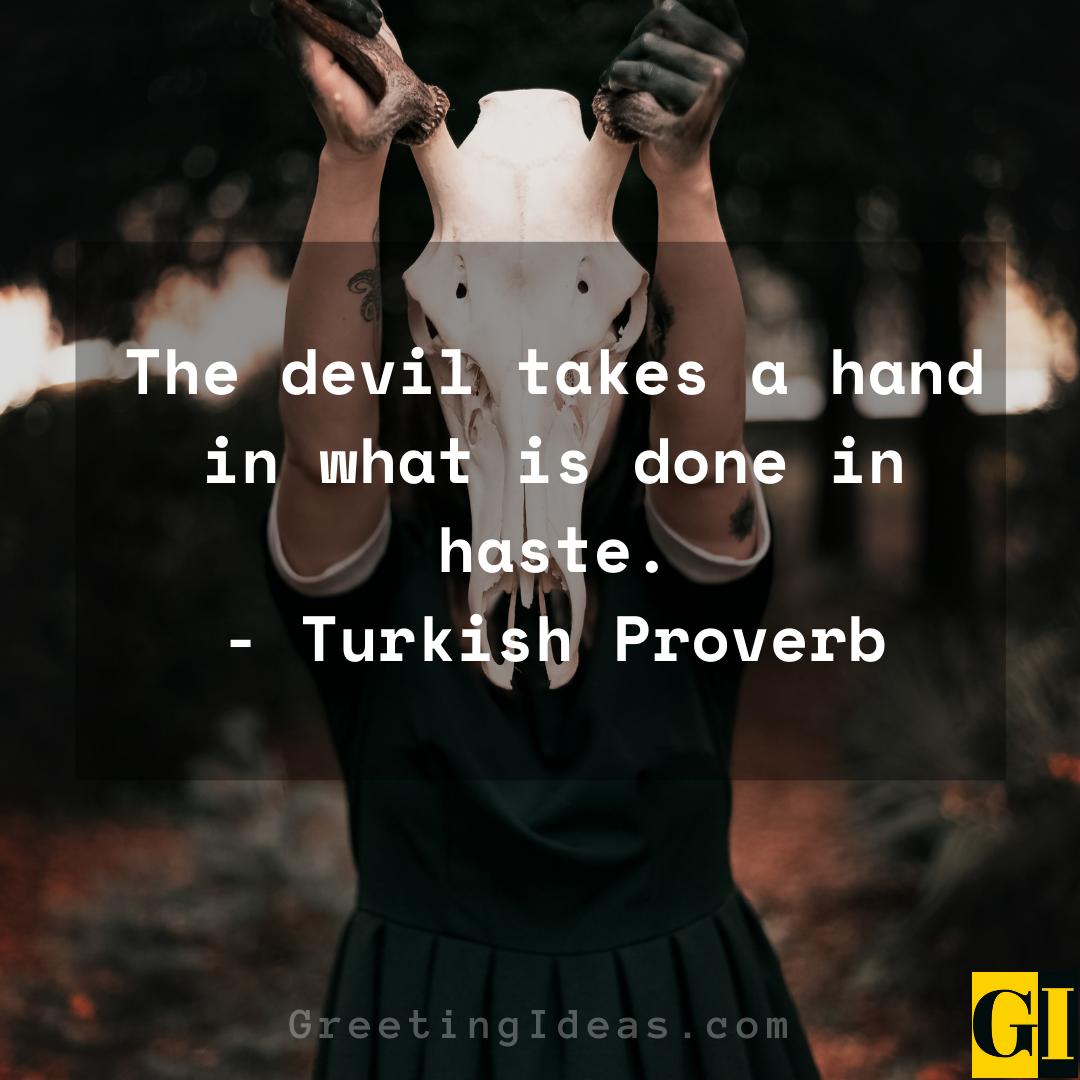 Devil Quotes Greeting Ideas 2