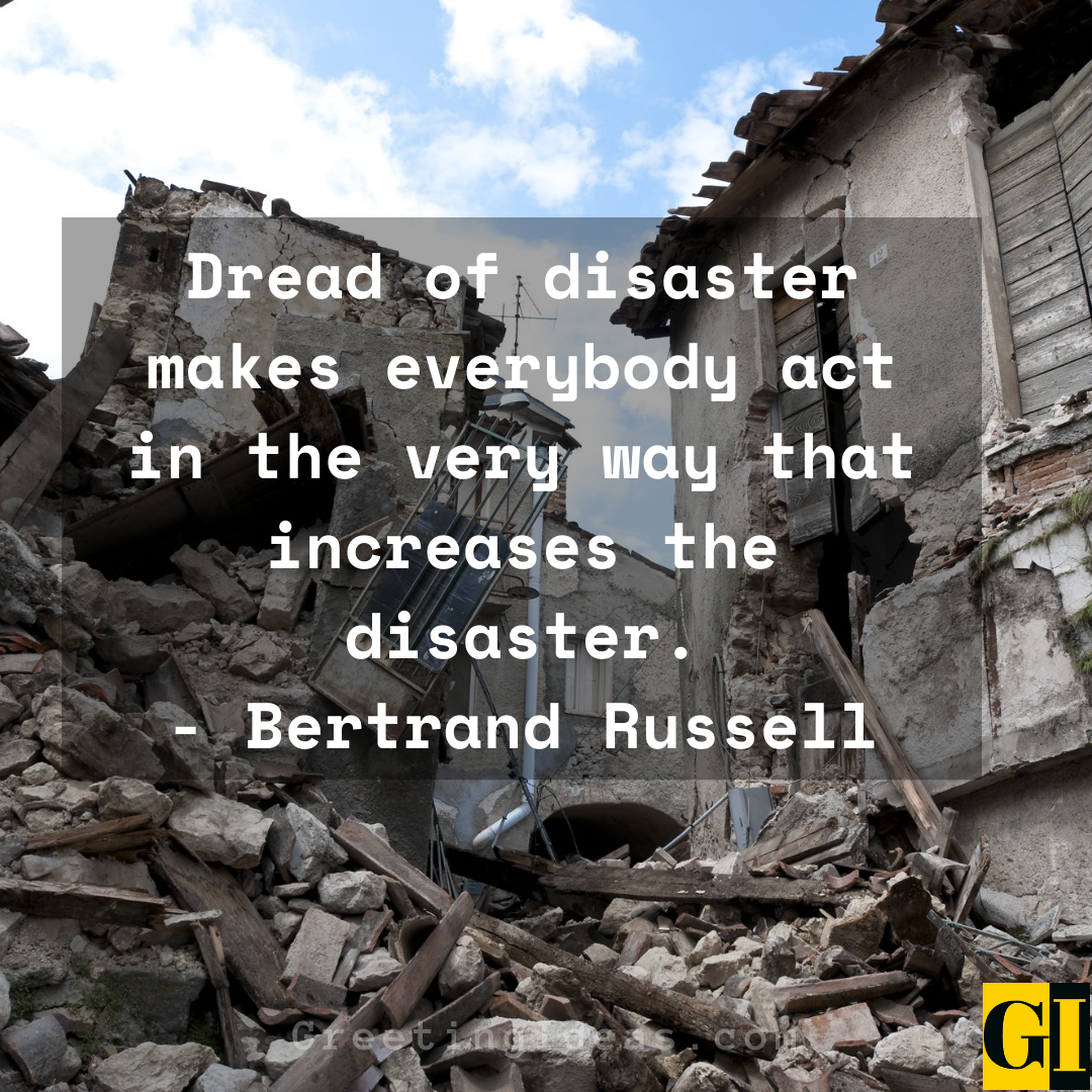 Disaster Quotes Greeting Ideas 3