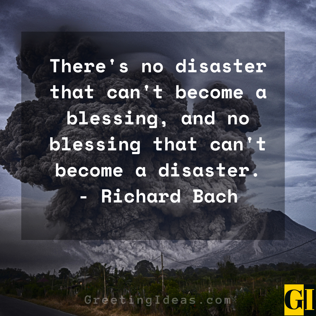 Disaster Quotes Greeting Ideas 4