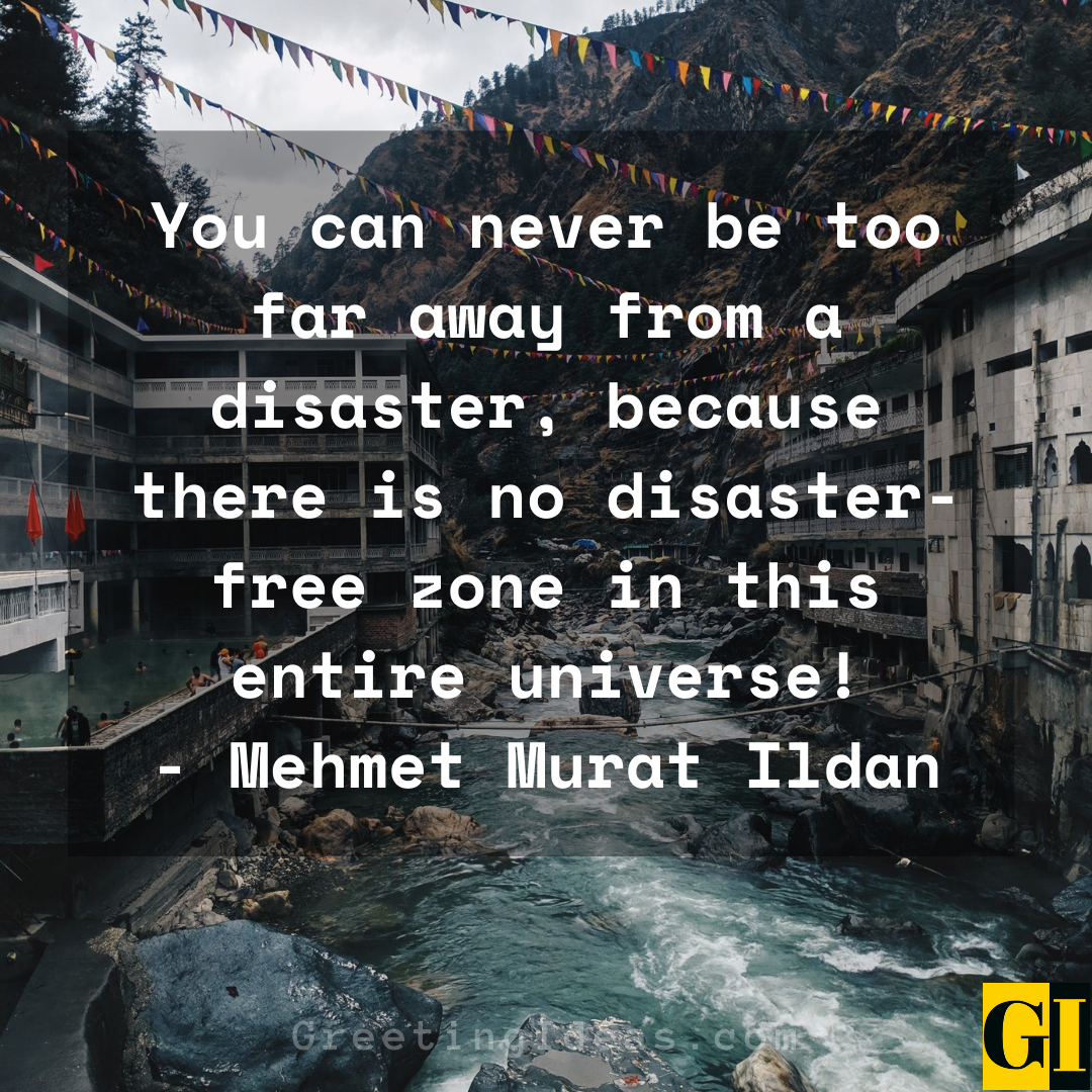 Disaster Quotes Greeting Ideas 8