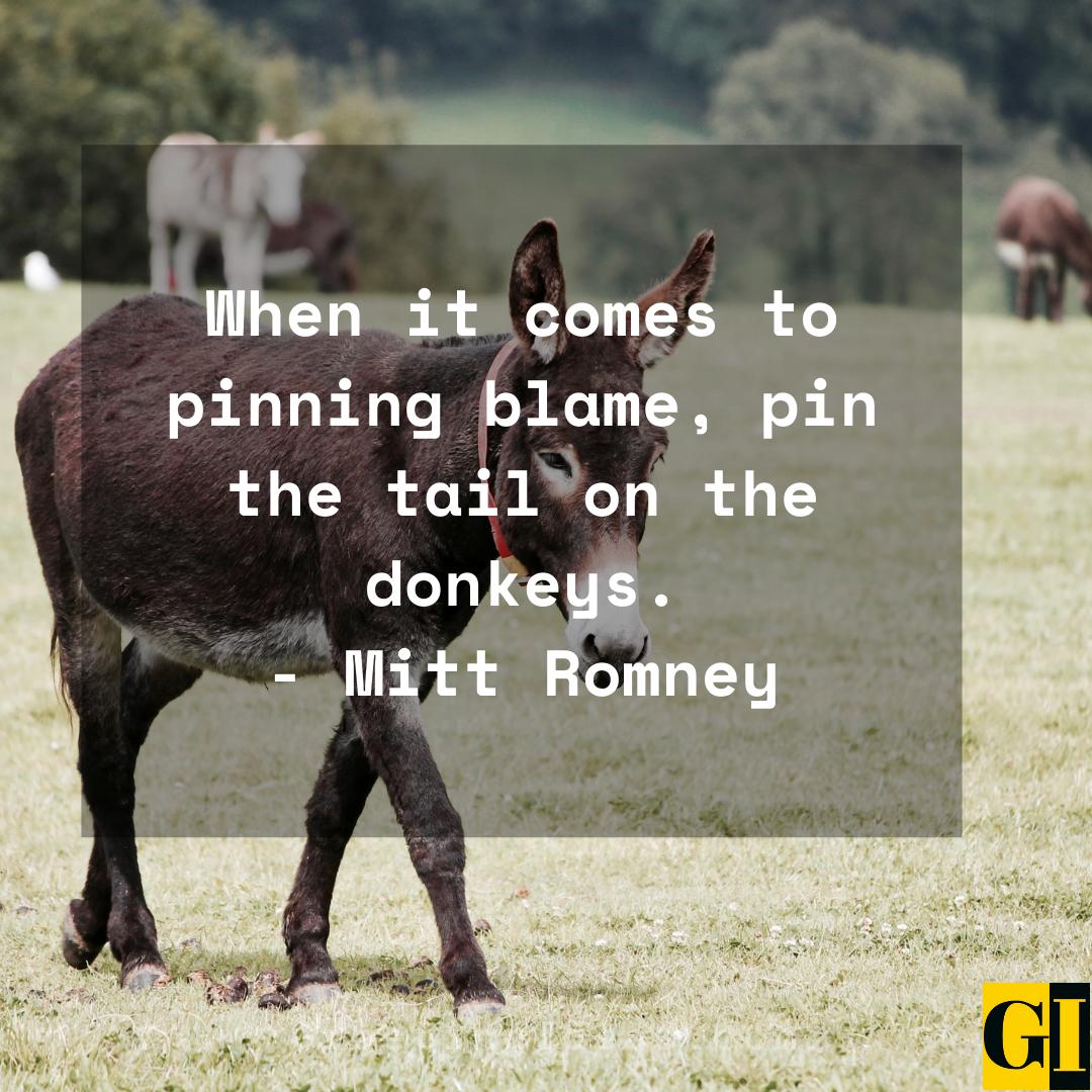 Donkey Quotes Greeting Ideas 1