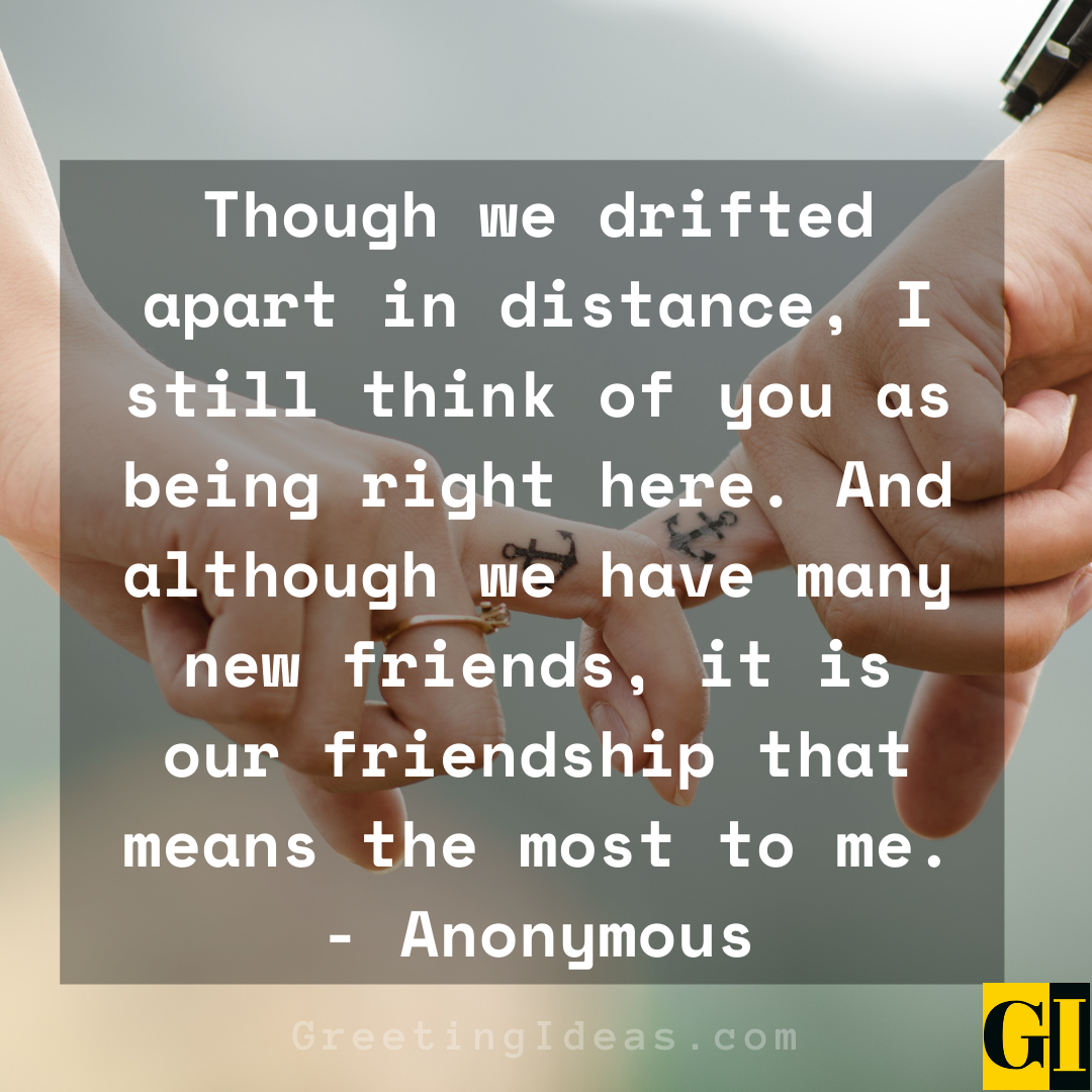 Drifting Apart Quotes Greeting Ideas 1