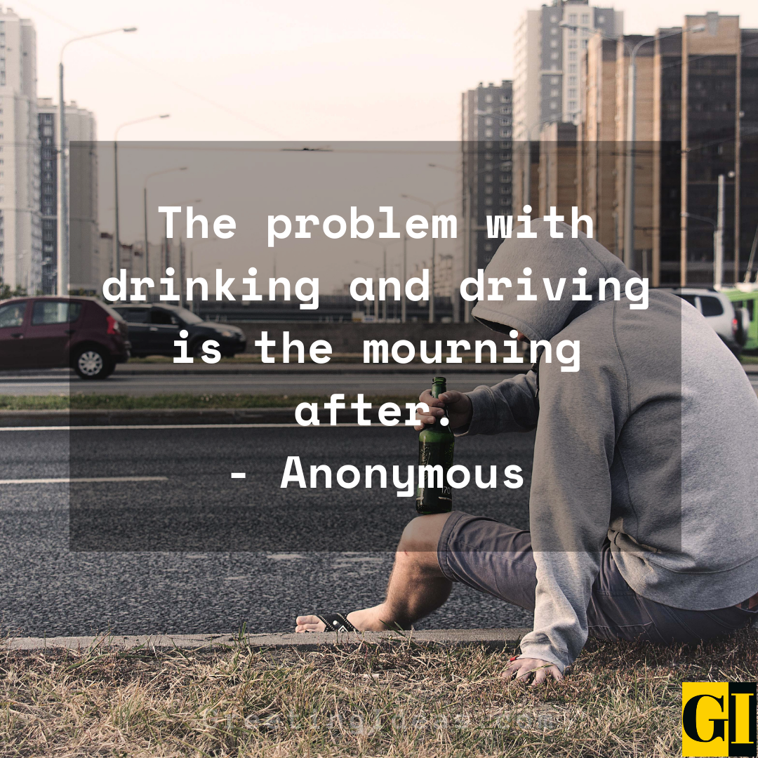 Drunk Driving Quotes Greeting Ideas 1