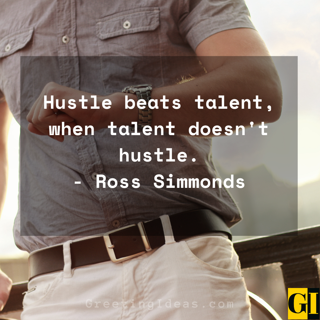 Hustle Quotes Greeting Ideas 2