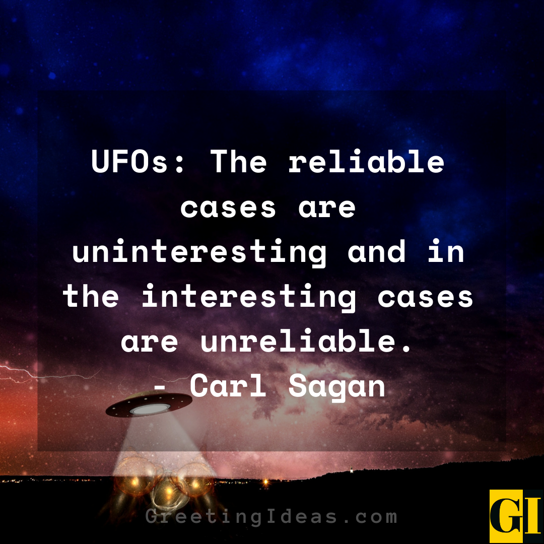 UFO Quotes Greeting Ideas 1
