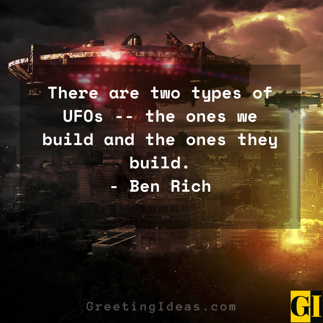 UFO Quotes Greeting Ideas 5