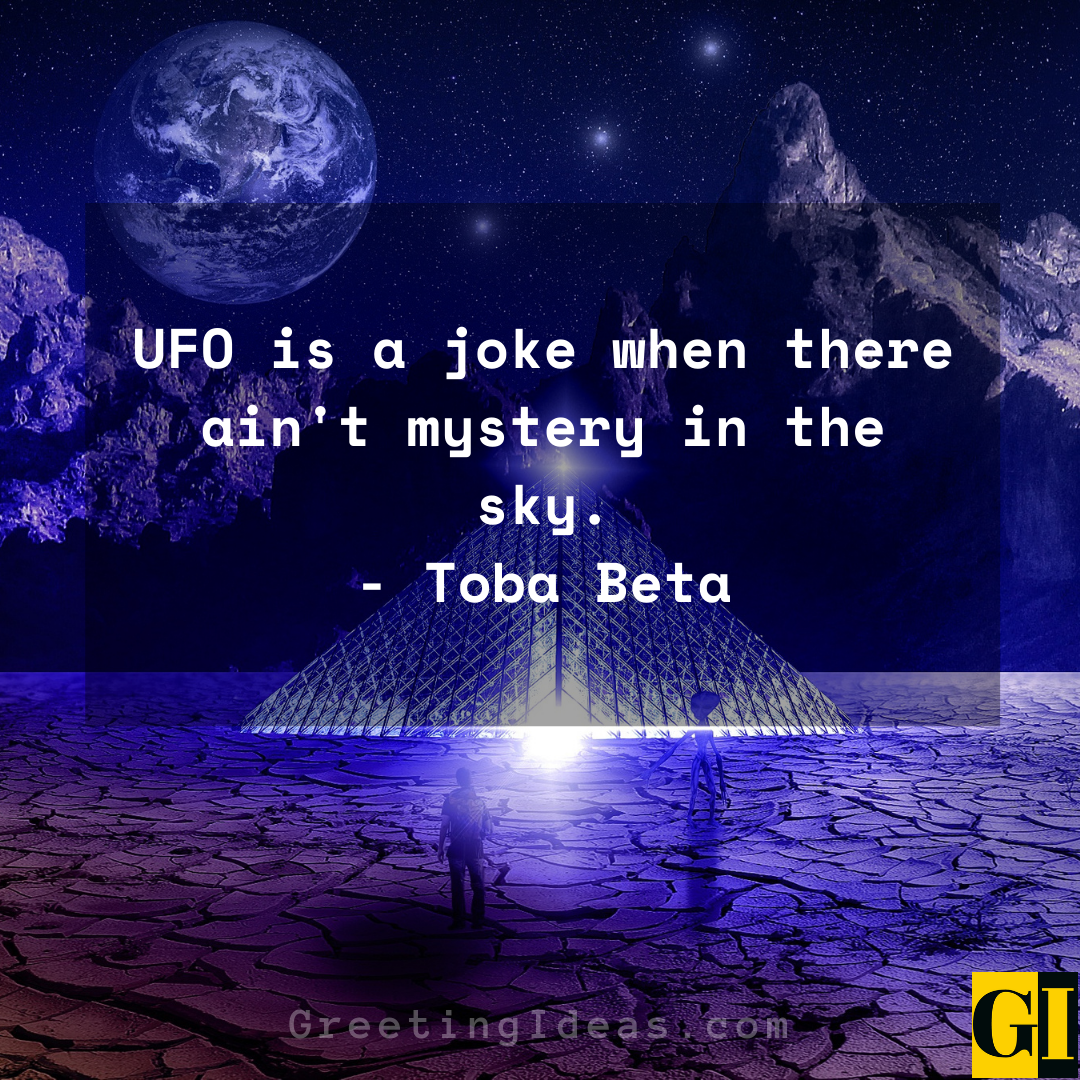 UFO Quotes Greeting Ideas 6