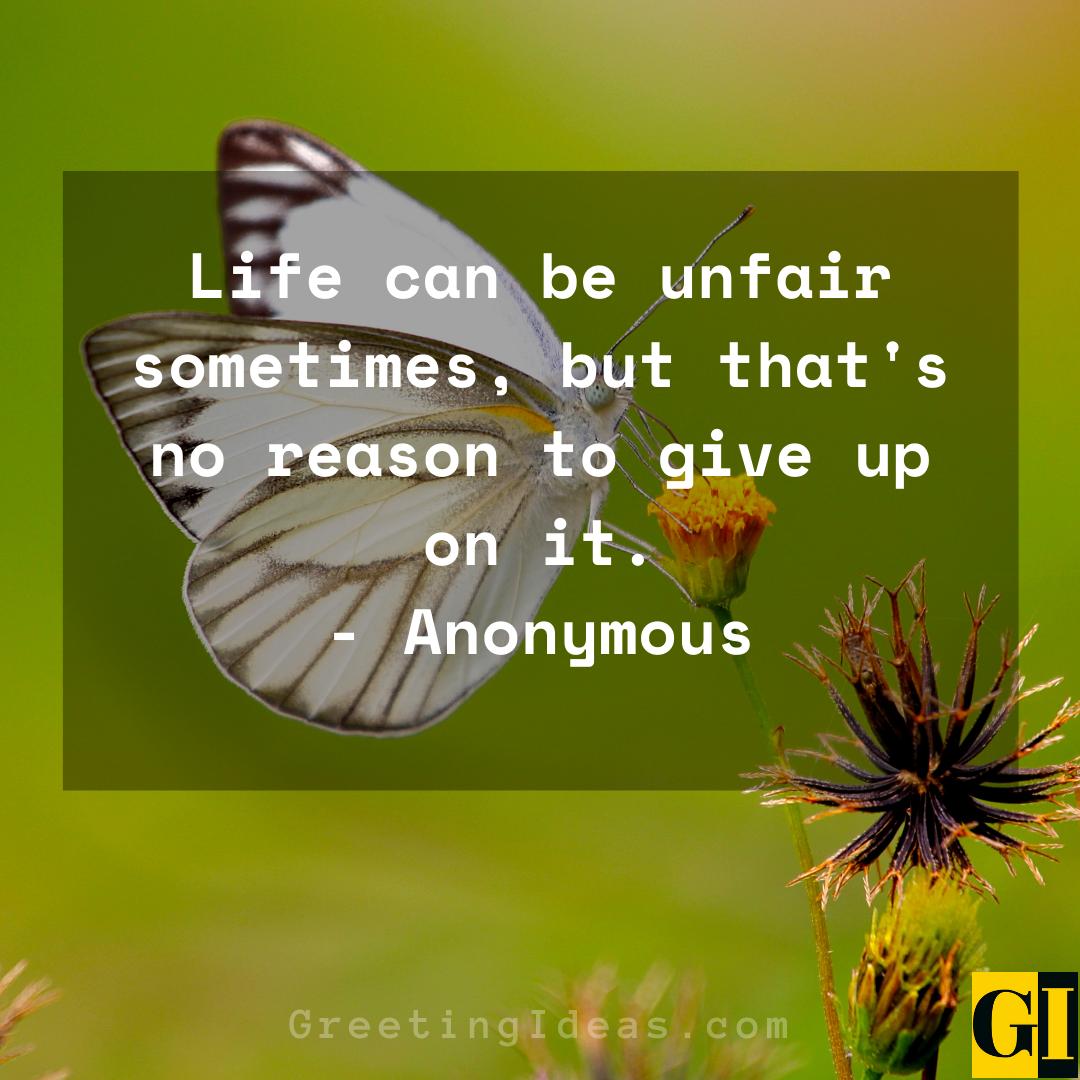 Unfair Quotes Greeting Ideas 1