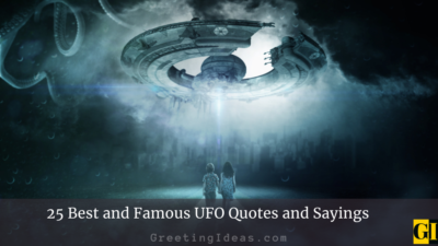 25 Best and Famous UFO Quotes and Sayings