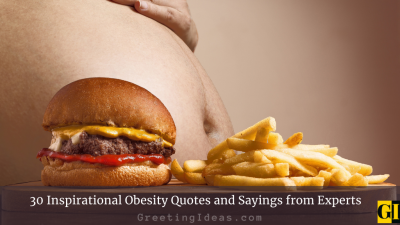 30 Inspirational Obesity Quotes and Sayings from Experts