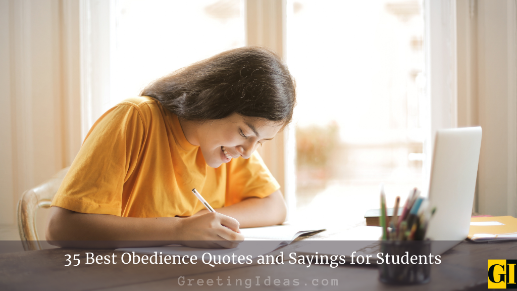 35 Best Obedience Quotes and Sayings for Students