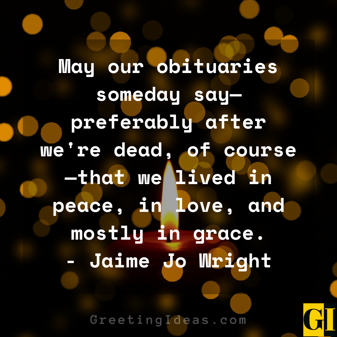 Obituary Quotes Greeting Ideas 1