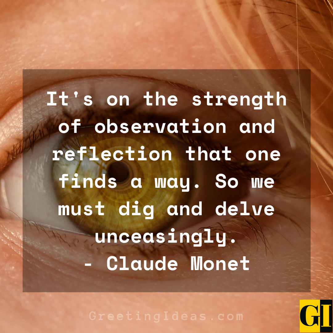 Observation Quotes Greeting Ideas 1