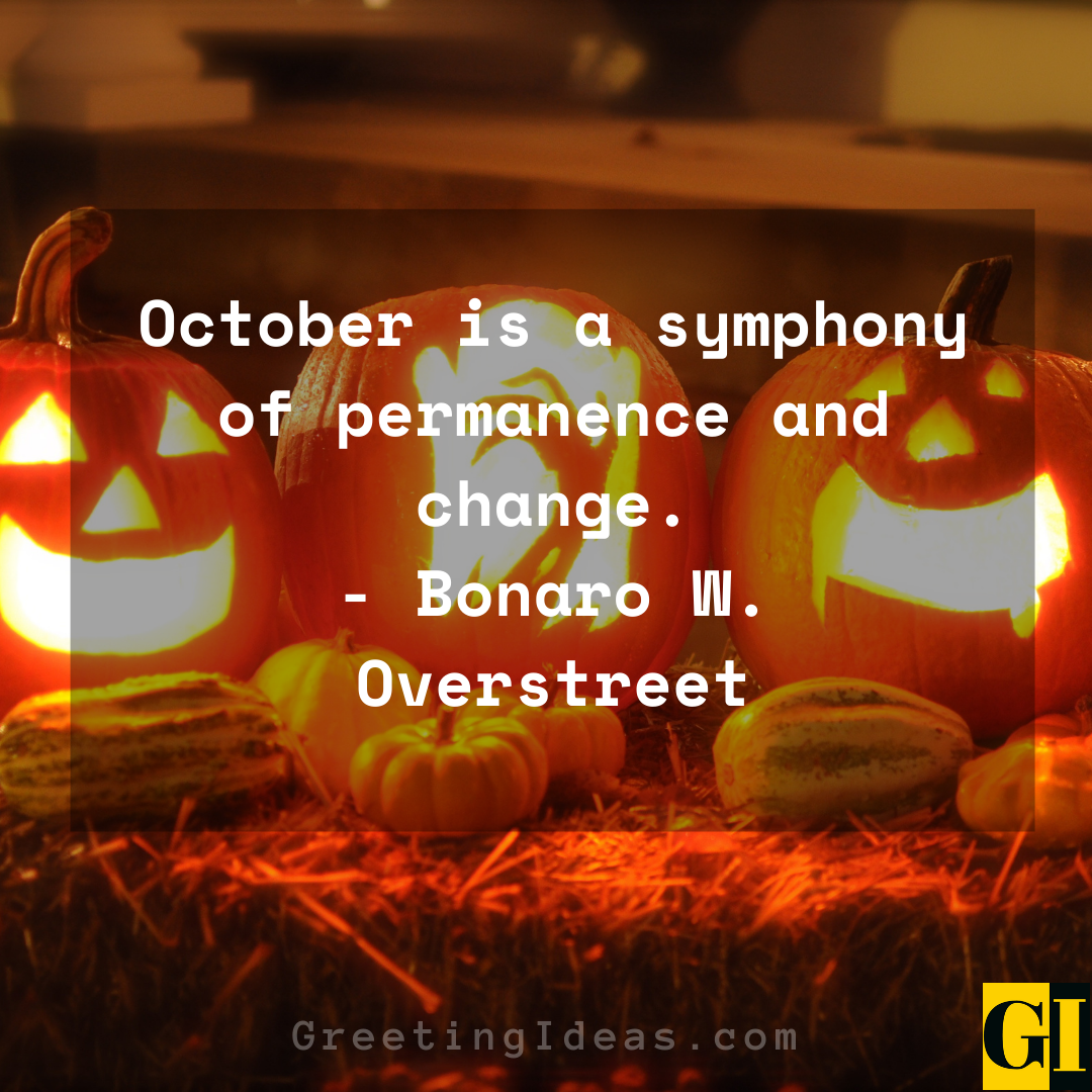 October Quotes Greeting Ideas 3