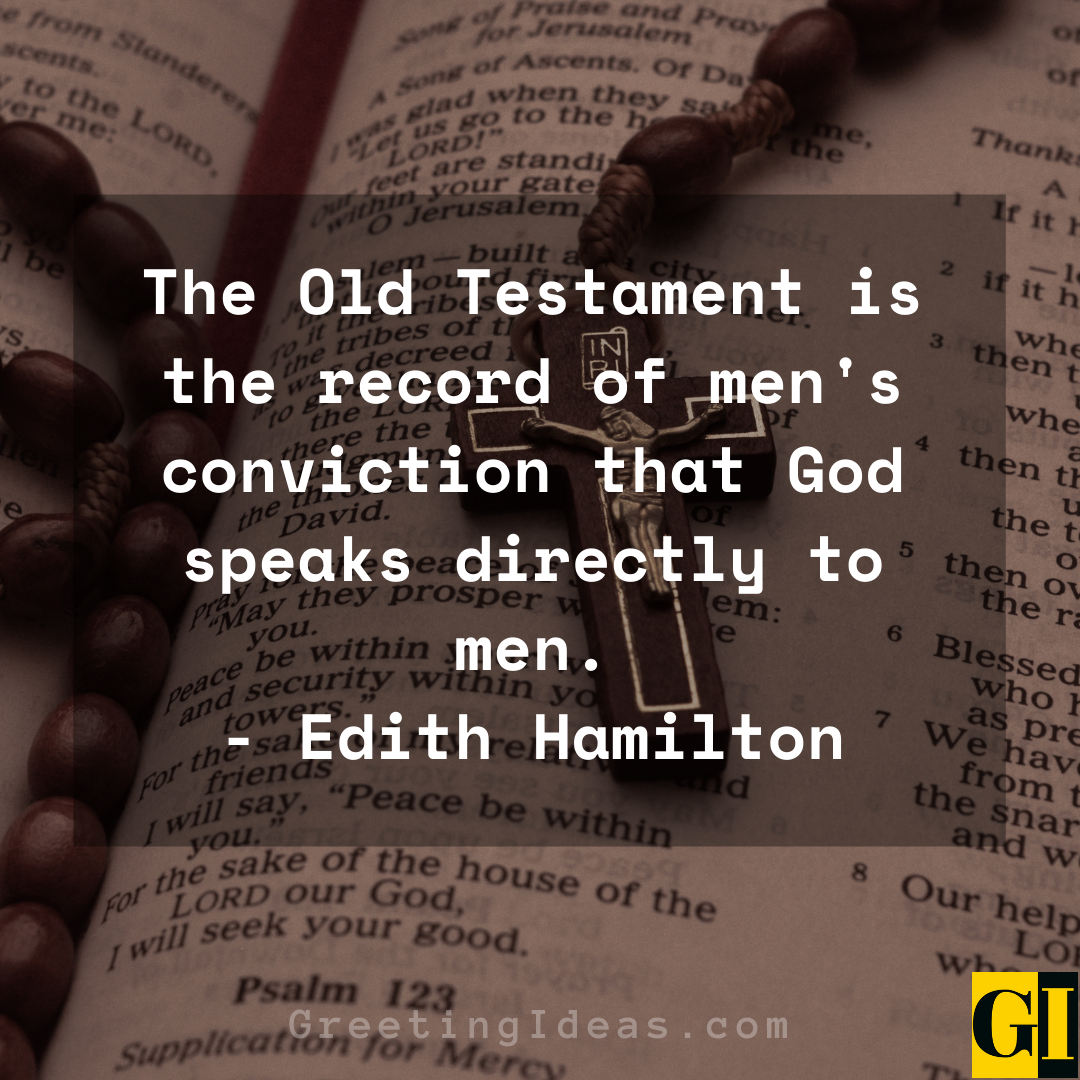 Old Testament Quotes Greeting Ideas 1
