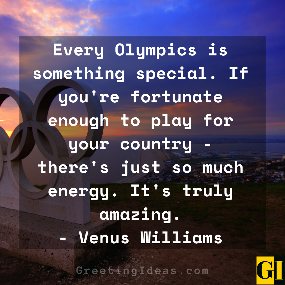 Olympic Quotes Greeting Ideas 1