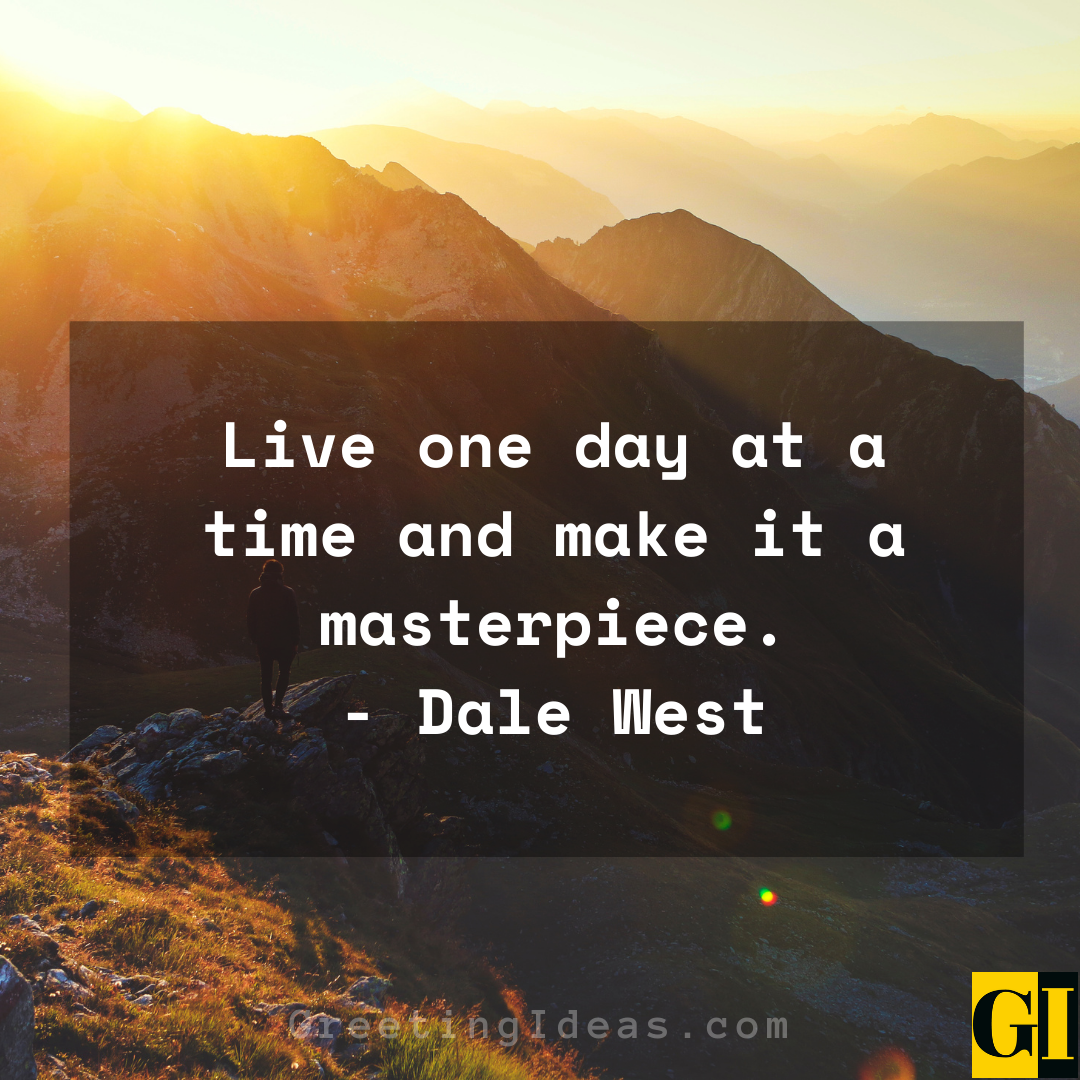 One Day At A Time Quotes Greeting Ideas 3 1