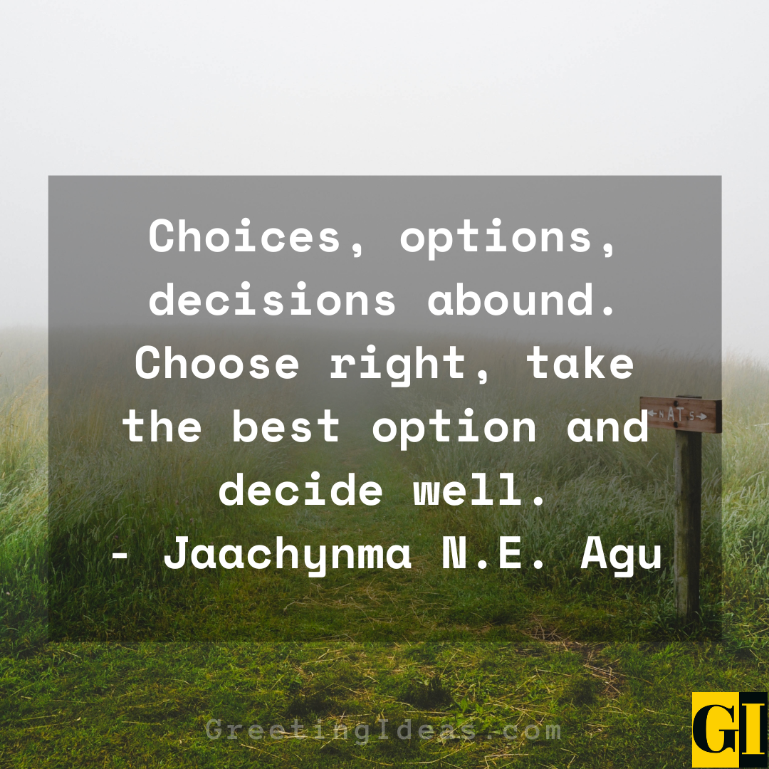 Option Quotes Greeting Ideas 4