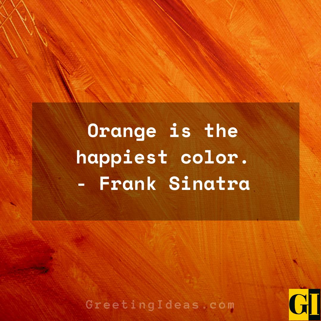 Orange Quotes Greeting Ideas 1