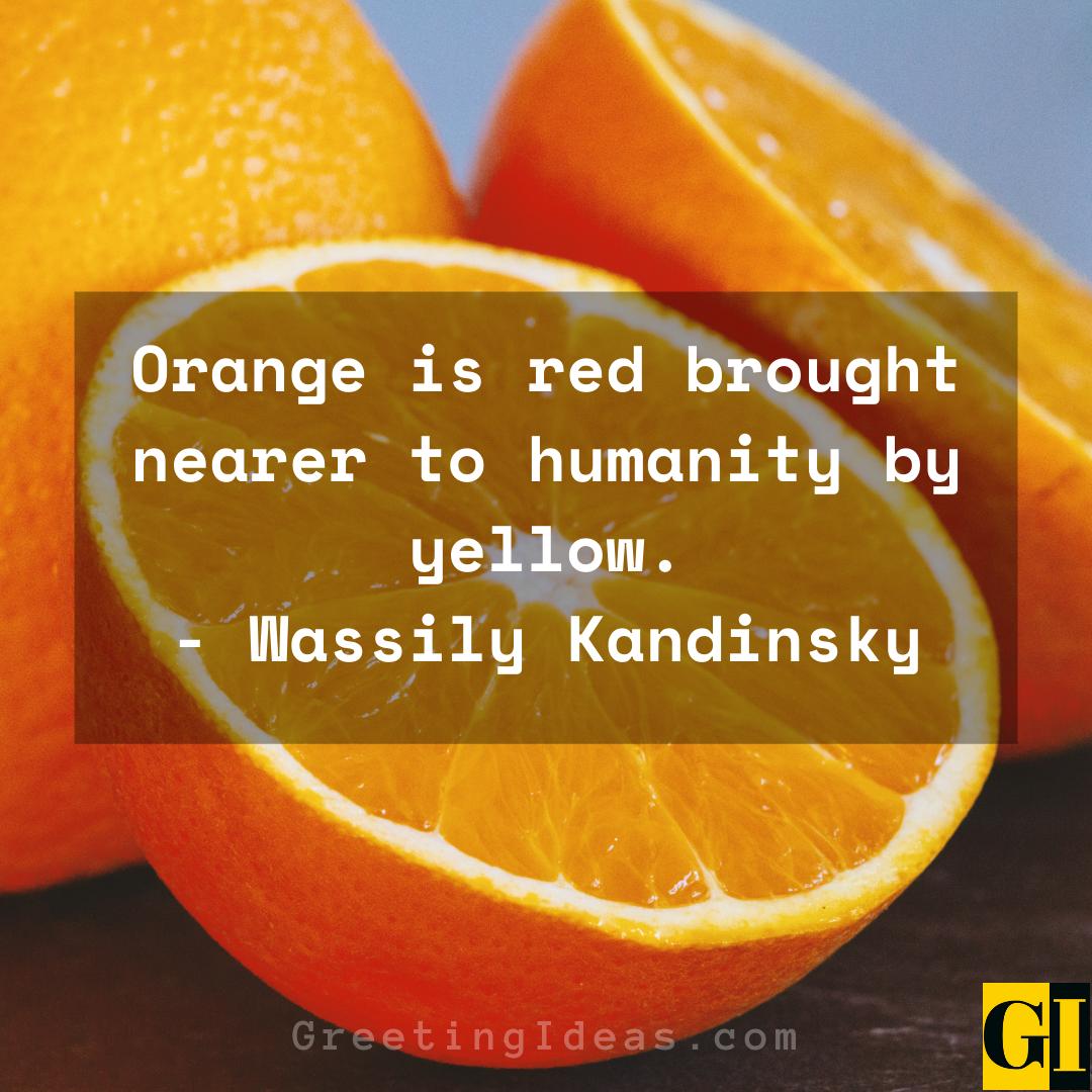 Orange Quotes Greeting Ideas 2