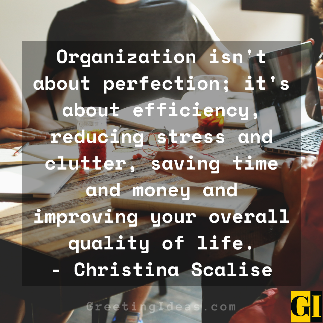 Organization Quotes Greeting Ideas 2
