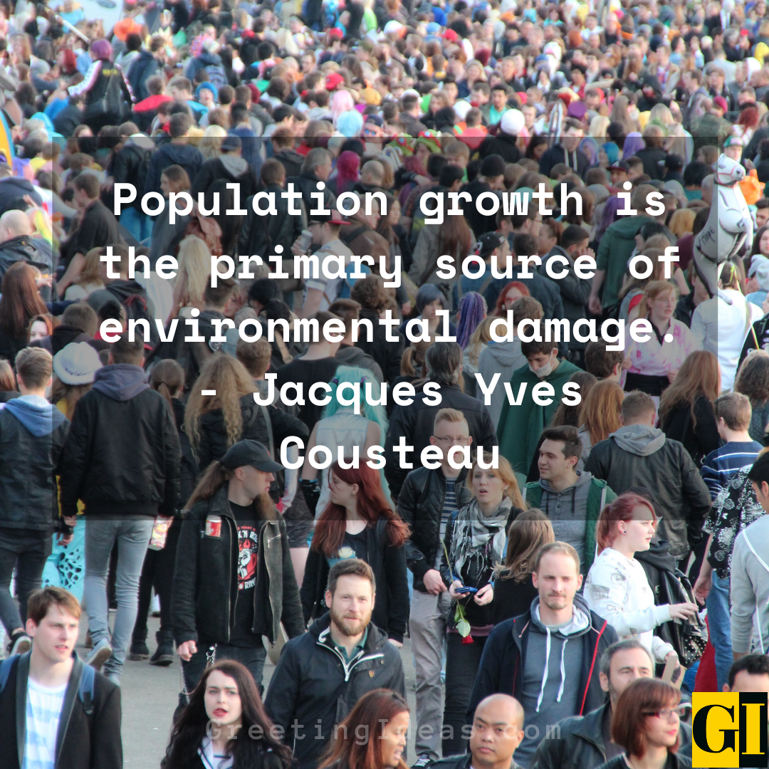 Overpopulation Quotes Greeting Ideas 1