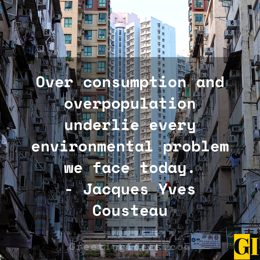 Overpopulation Quotes Greeting Ideas 2