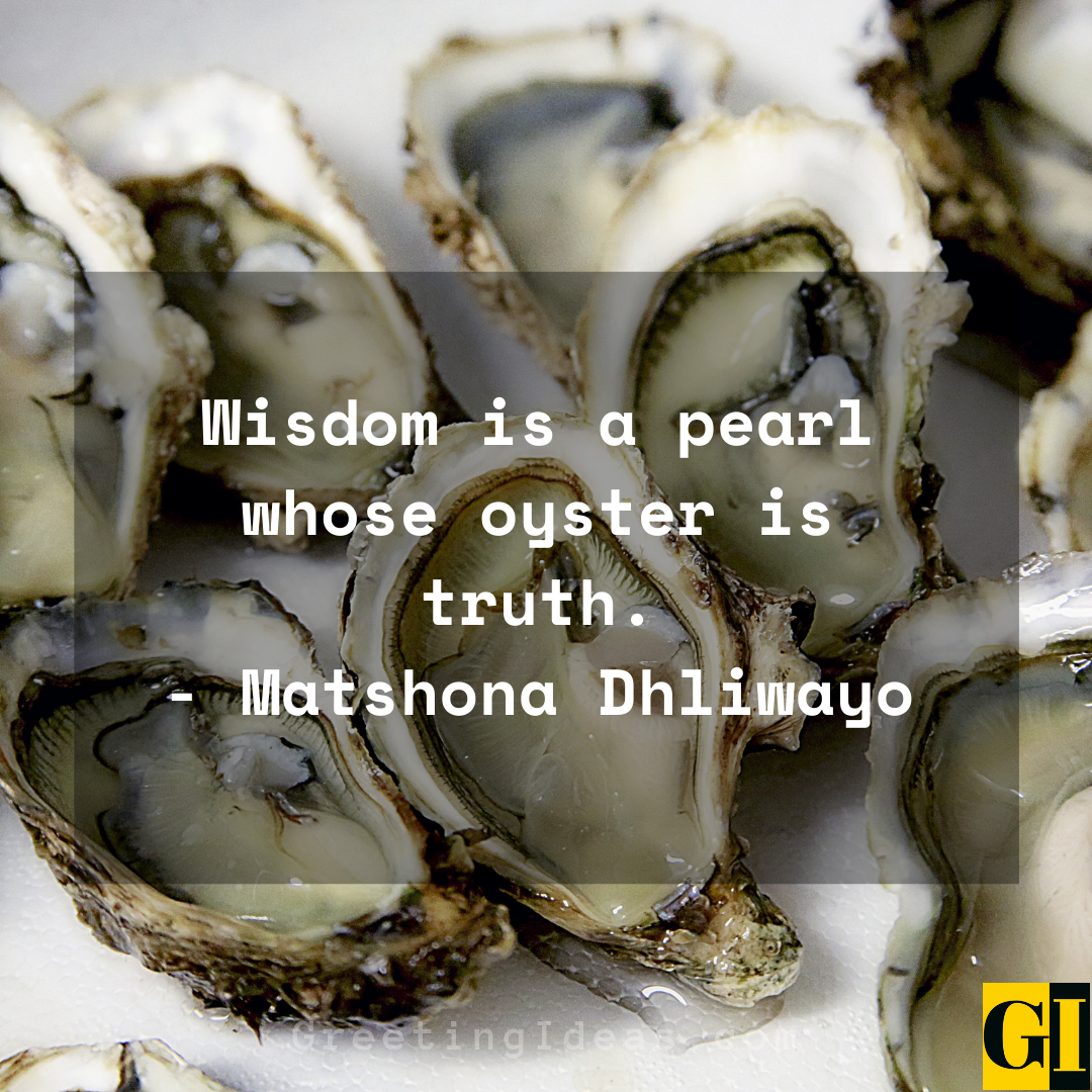 Oyster Quotes Greeting Ideas 1