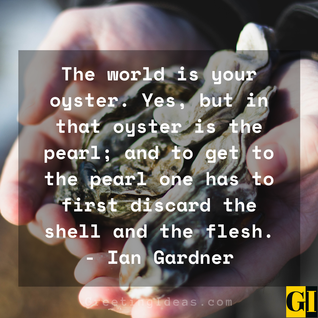 Oyster Quotes Greeting Ideas 3