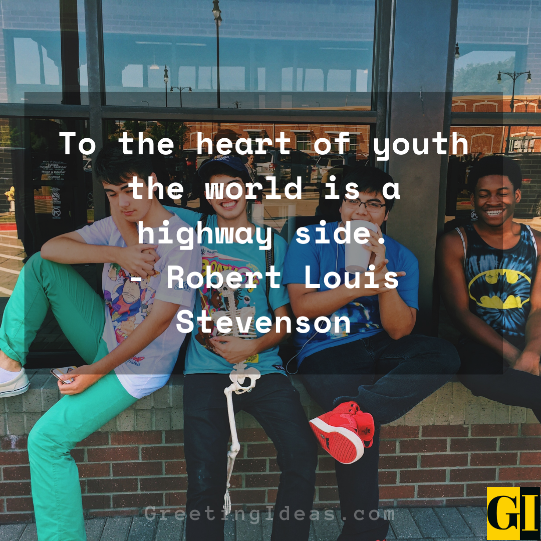 Youth Quotes Greeting Ideas 3