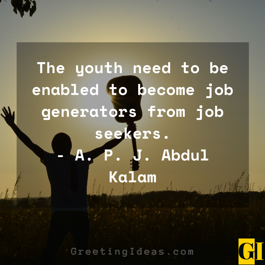 Youth Quotes Greeting Ideas 4