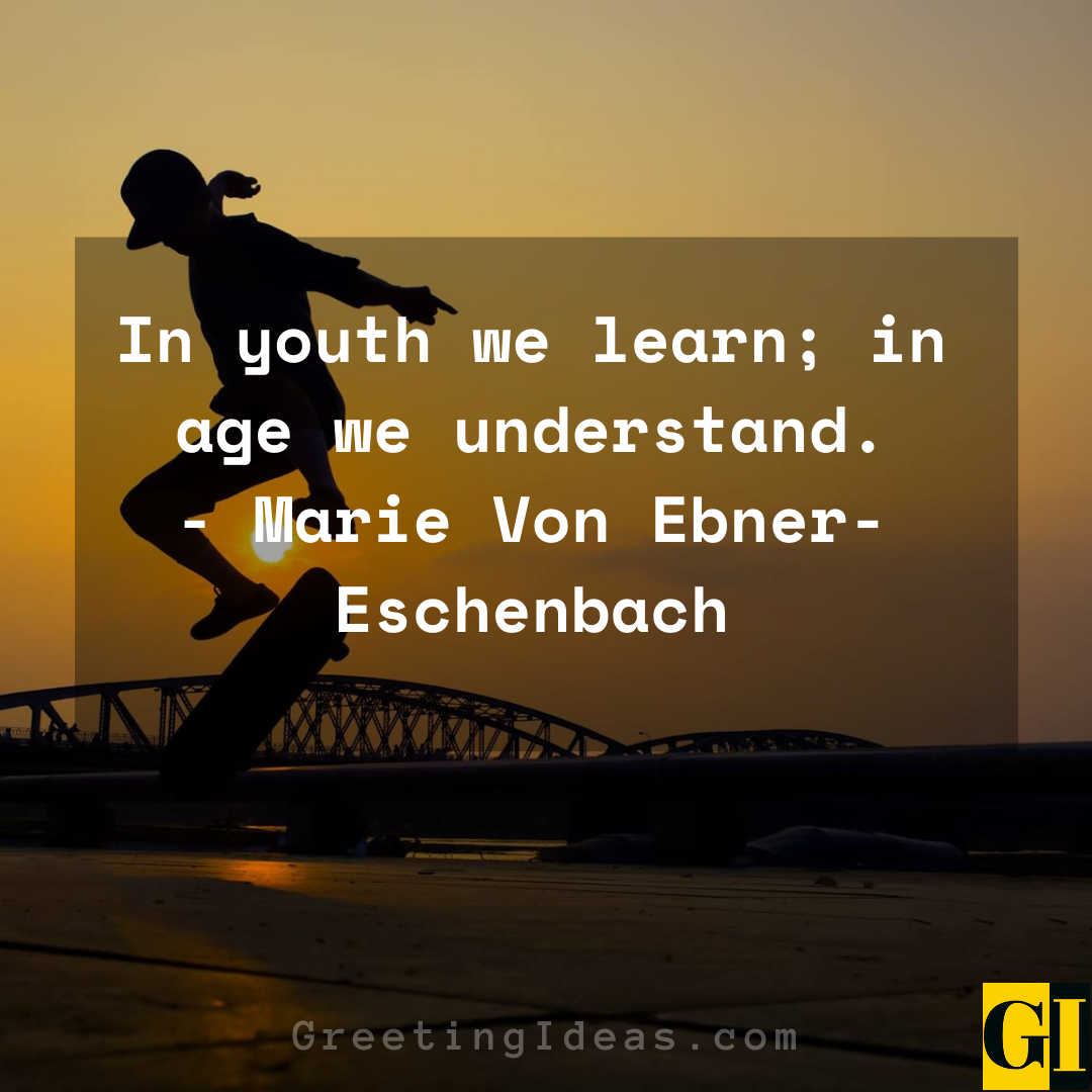 Youth Quotes Greeting Ideas 5